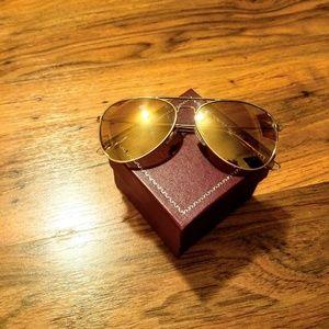 H&M Rose Gold Sunglasses